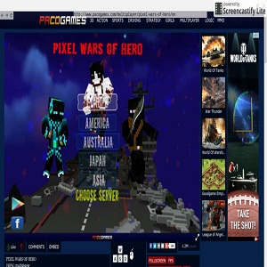 Pixel Wars of Hero